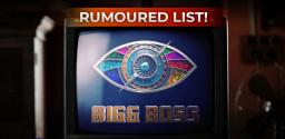 Bigg Boss Tamil: List of Rumoured Contestants