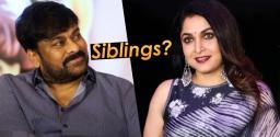 Ramya Krishna To Play Chiranjeevi Sister