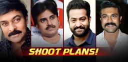 Chiru, Pawan, NTR & Ram Charan Begins In October