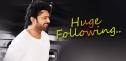 Prabhas' fan army grows into 20 millions on Facebook