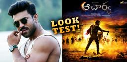Ram Charan Gears Up For Acharya Look Test