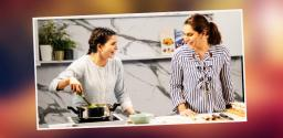 Samantha turns chef for Upasana's UR Life