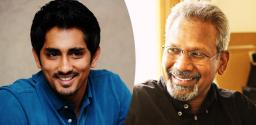 Siddharth As Director, Mani Ratnam As Producer