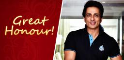 Sonu Sood Gets A Rare Recognition