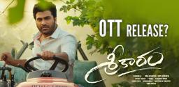 Sharwanand Next Heads For OTT Release?