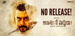 Suriya's Next Film 'Soorarai Pottru' Postponed