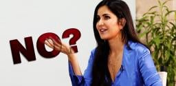 Katrina Says Big No For That