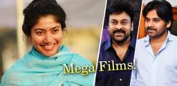 Back To Back Mega Films For Sai Pallavi!