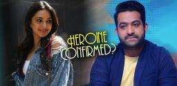 Kiara Advani To Romance NTR?