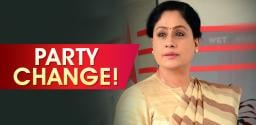 Vijayashanthi Quits Congress; To join BJP Tomorrow