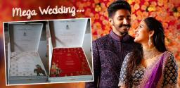 viral-niharika-wedding-card-pics