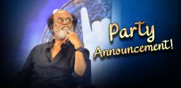 Official: Rajinikanth's Party Announcement On Dec 31