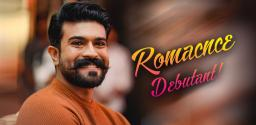 Charan On-Screen Lover, A Debutant!