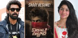 Rana's Virataparvam Shooting Resumes