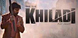 Ravi Teja's Khiladi Glimpse Out