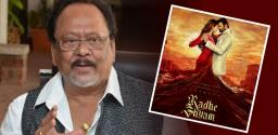 Krishnam Raju turns a sage for Radhe Shyam