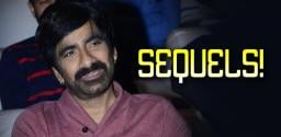 Ravi Teja plans two big sequels