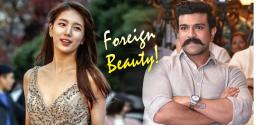Shankar planning to rope in Korean actress for Ram Charan