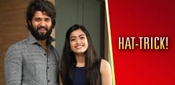 Devarakonda & Rashmika for third time!