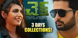 Nithiin's Check: 3 Days Collections