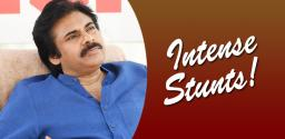 Pawan to surprise with his unusual stunts!
