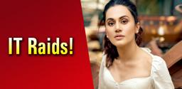 Taapsee breaks silence on IT Raids