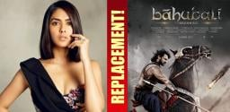 Jersey actress walks out of Baahubali project