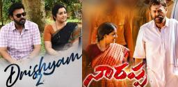 Drushyam 2 first; Narappa next