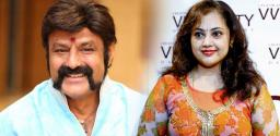 Senior heroine to act along side Nandamuri Balakrishna