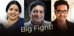 MAA Elections: Jeevitha Rajasekhar joins between Prakash Raj & Vishnu Manchu