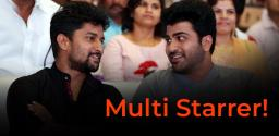 Nani and Sharwanand to act together?