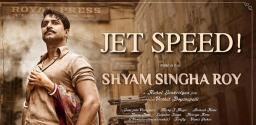 Nani  increases his pace for Shyam Singh Roy
