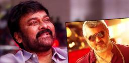 Chiranjeevi Takes a Key Decision on Vedhalam Remake