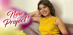 Details of Samantha's New Project!