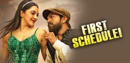 Ram Charan & Kiara to begin in Pune!