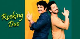 Buzz: Akhil to share the screen With His Father in a Thriller!
