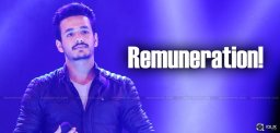 akhil-remuneration-for-his-debut-film