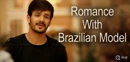 akhil-romance-with-brazilian-girl-for-majnu