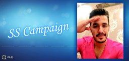 akhil-akkineni-selfie-salute-campaign-in-twitter