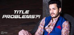 Will These Titles Fit Akhil?