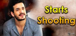 Akhil Shoot From June 10th