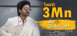 Allu Arjun's AVPL Racing Towards 3 Mn