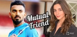 Cricketer KL Rahul Dating Alia's Best Friend?