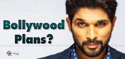 Allu Arjun's Bollywood Plans On The Way?