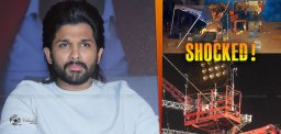 Allu Arjun Shocked To Hear Indian2 Accident