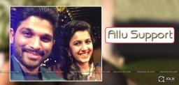 allu-arjun-to-attend-oka-manasu-audio-launch