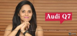anasuya-to-buy-blue-color-audiq7-details