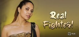 Anasuya Becomes Winner In That Fight!