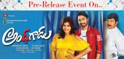'Andhhagadu' Grand Pre-Release Event on