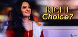 Is Anushka Right Choice?